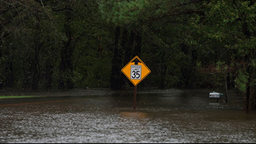 Two women die after van overtaken by floodwaters in SC