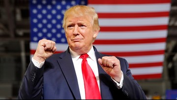 Trump slams congresswomen; North Carolina crowd roars, 'Send her back!'