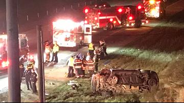 6 children seriously injured in North Carolina rollover crash