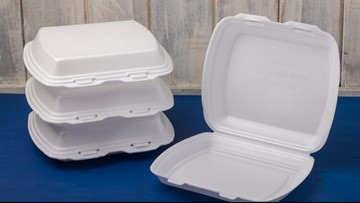 Maine becomes first state to ban Styrofoam food containers
