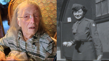 102-year-old Maine veteran honored with WWII medals 73 years overdue