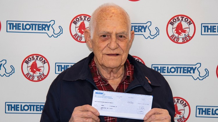 Great-grandpa wins Mass. lottery by playing numbers of Red Sox stars