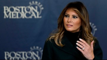 First Lady criticizes impeachment witness who mentioned Barron Trump