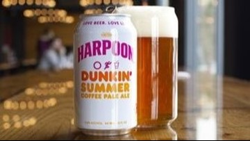Harpoon and Dunkin' debut 'iced coffee' beer