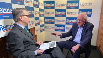 Sen. Bernie Sanders leads polls, but can he attract enough moderates to win? Here's what he has to say