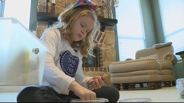 'Abigail's Beads that Feed': 7-year-old on a mission to feed the hungry