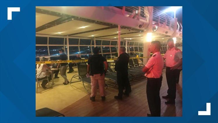 1-year-old falls from cruise ship