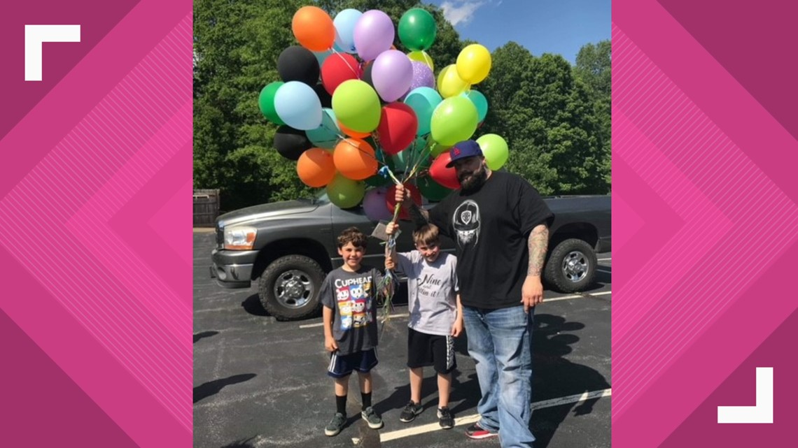 'I hope this helps somebody' | 9-year-old boy sends up balloons with money on his birthday year after year