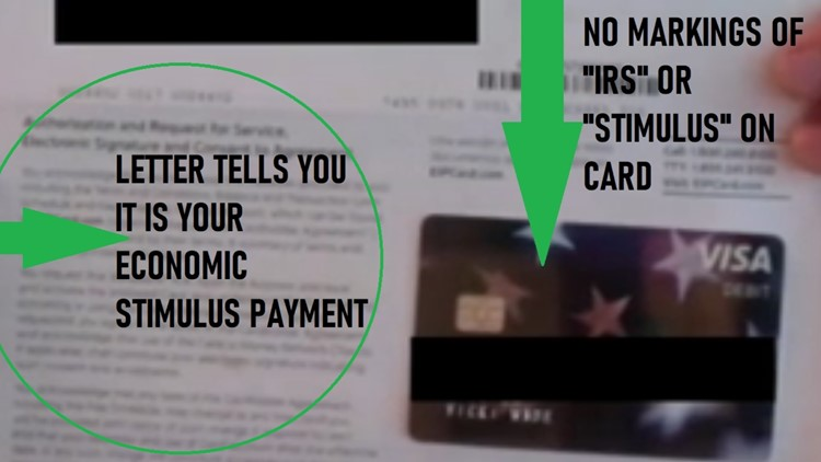 'I thought it was junk mail': Stimulus debit cards don't look like you think they would