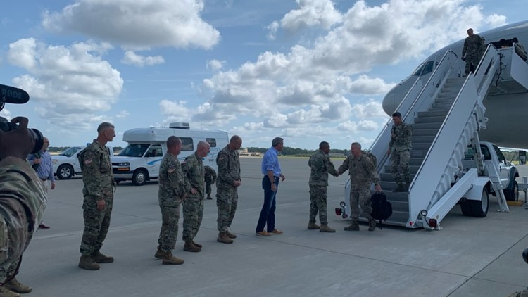 More Than 400 North Carolina Soldiers Return Home After Yearlong Deployment