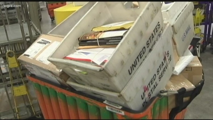 Postal worker admits dumping 1,300 pieces of mail in the woods