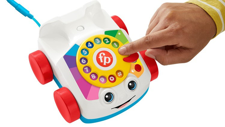 Classic children's toy phone now able to make real phone calls