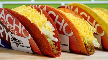 Taco Bell giving away free Doritos Locos Tacos to everybody in the U.S. today