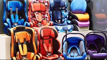 Trade in your old car seat at Target, get a discount on a new one