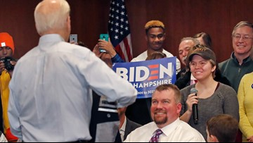 Joe Biden calls college student a 'lying, dog-faced pony soldier' at New Hampshire event