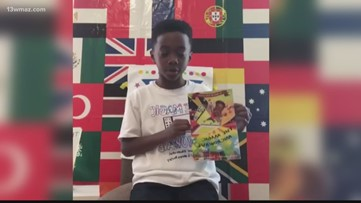 8-year-old from Georgia becomes published author, holds first book signing on Facebook