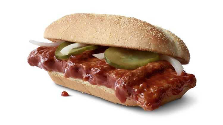 McDonald's reveals McRib will return in November