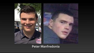 Manhunt underway for college senior linked to 2 deaths