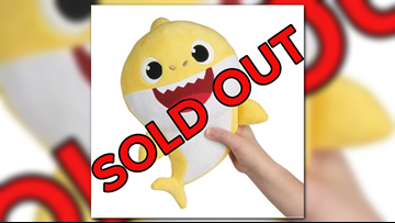 SOLD OUT: 'Baby Shark' doll sold out on Amazon