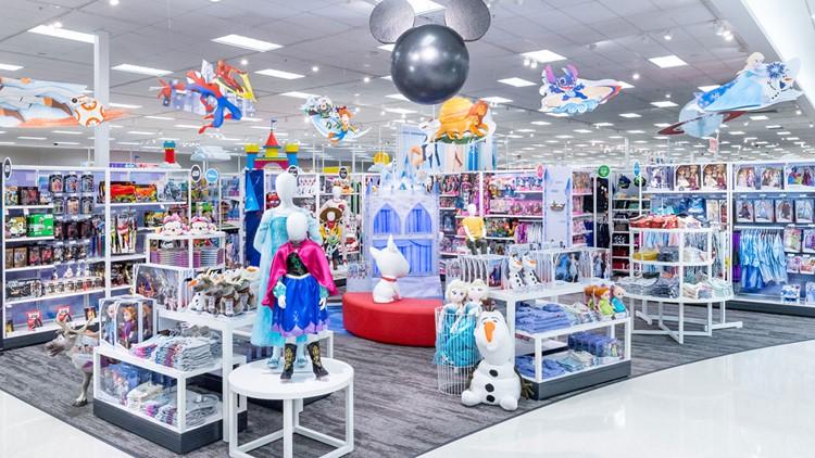 Disney store inside Target