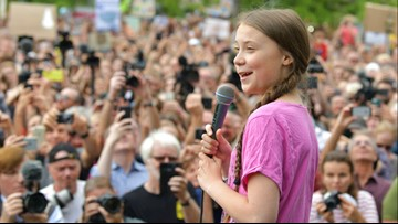 Climate activist Greta Thunberg is favored to win the Nobel Peace Prize