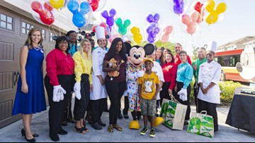Florida boy surprised with Disney trip after using birthday money to help Hurricane Dorian evacuees