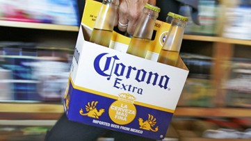 Corona beer halts production