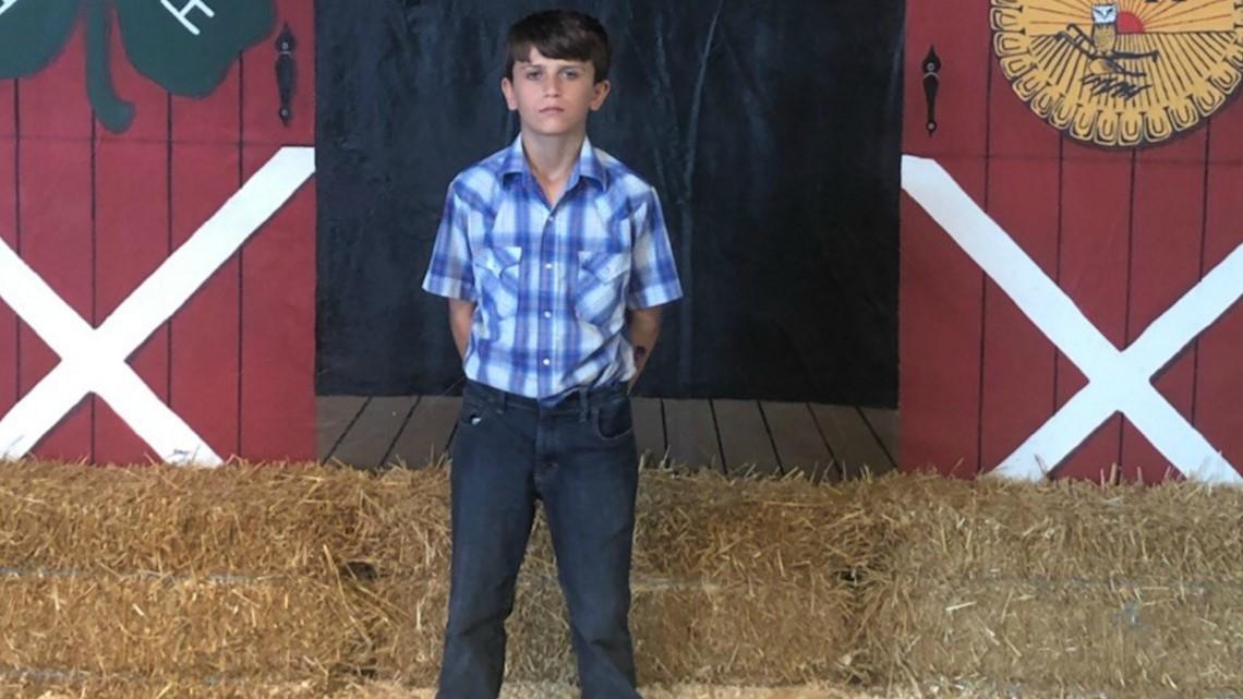 Ohio 7th grader donates fair livestock winnings of $15,000 to St. Jude