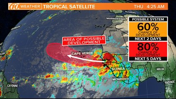 Tropics update: National Hurricane Center expects development of a tropical system