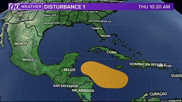 After Hurricane Michael's landfall, we're closely monitoring another low pressure system