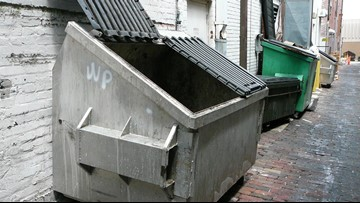 Authorities: Man sleeping in dumpster ends up in trash truck in Pennsylvania
