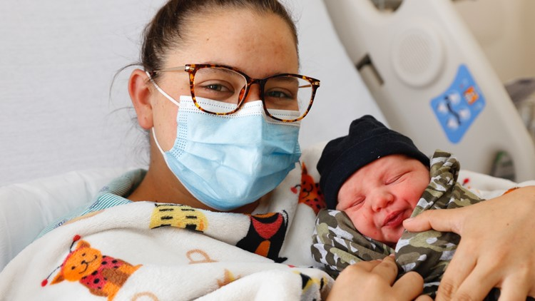 Florida baby born on 3/21 at 3:21 p.m. in area code 321