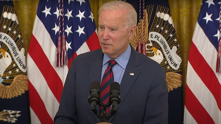 President Biden says Cuomo should resign over sexual harassment investigation