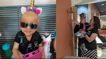 2-year-old Georgia girl celebrates defeat of rare form of ovarian cancer
