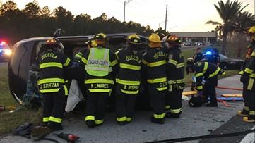 Two kids, mom and grandma killed in crash near Disney World