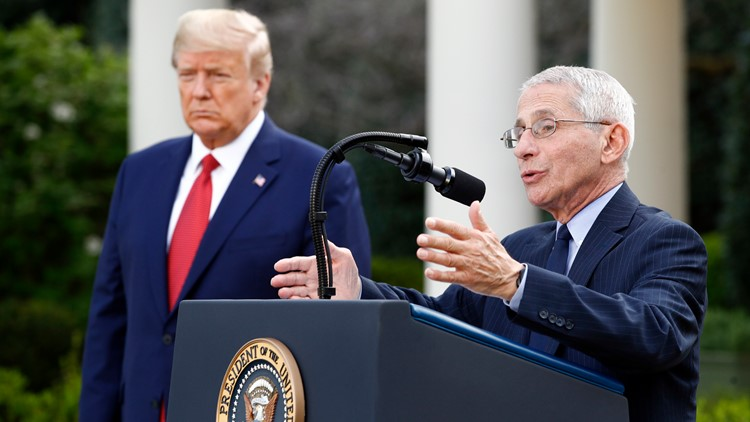VERIFY: In 2017 Fauci said Trump would face a surprise outbreak, but he didn't predict COVID-19