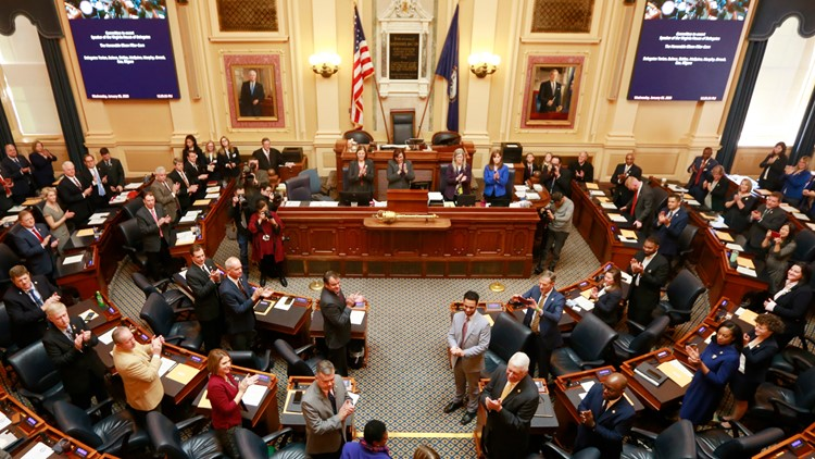 Virginia Legislature Democratic Takeover