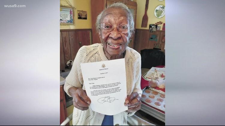 'I feel good!' | Virginia resident turns 110 years old