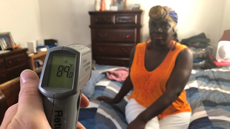 With no laws requiring landlords to provide AC, tenants are stuck sweating it out