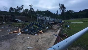 Mother and son dead after tornado rips through Ruston, Louisiana Tech campus