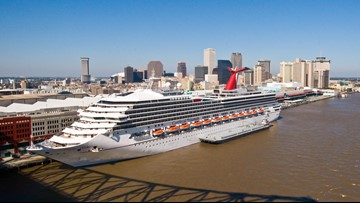 Woman missing after falling overboard off Carnival Triumph