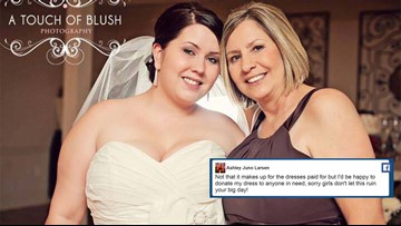 After bridal shop closes, former brides offer their wedding dresses