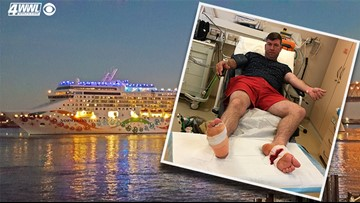 Louisiana couple's honeymoon cruise turns into medical nightmare