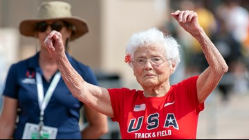 At 103, Louisiana's 'Hurricane' Hawkins takes titles at US Senior Games
