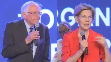 Elizabeth Warren and Bernie Sanders pledge support of LRSD teachers one-day strike