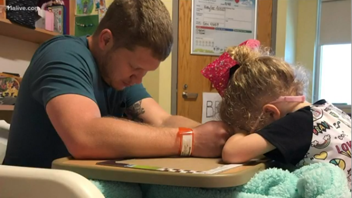 4-year-old who prayed for new heart now praying for family whose sacrifice allowed her to live