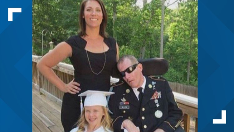 Georgia soldier Mark Allen dies 10 years after being shot during search for deserter
