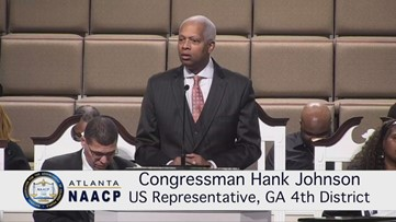 Rep. Hank Johnson compares President Trump to Hitler in New Year's Day speech