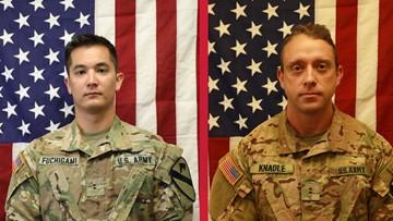 US names service members killed in Afghanistan chopper crash