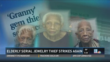 86-year-old notorious jewelry thief arrested at Perimeter